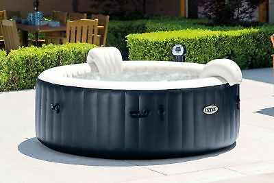 Intex 28405E Pure Spa 4-Person  Inflatable Portable Heated Bubble (Hot Tub )