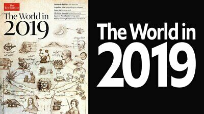 The ECONOMIST magazine ~The World in 2019 ~Leaders/Brexit/Refugees/Mexico ~ NEW