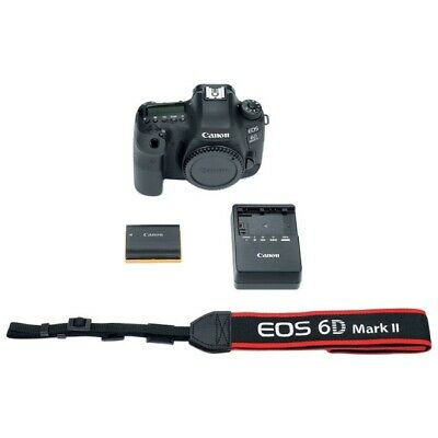"Canon EOS 6D Mark II 3"" Digital SLR Camera Body Only 1897C002"