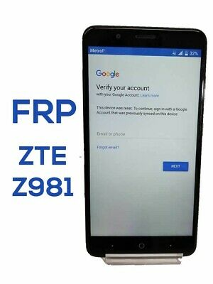 FRP GOOGLE ACCOUNT Removal Remove Service for Most ZTE Models N9560