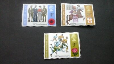 GB 1971 Commemorative Stamps~Anniversaries~Unmounted Mint full Set