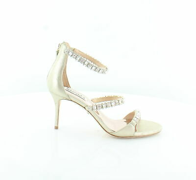 4d9ce3c20e97 Badgley Mischka New Yasmine Gold Womens Shoes Size 6 M Sandals MSRP  245
