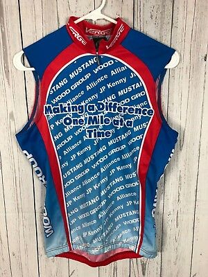 Verge Sport Making a Difference Cycling Jersey Size XS Mustang Wood Group 1d0609967