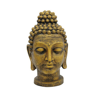 Head Of Buddha Antique-Gold 75cm Fake Plant Foliage Flower Decor Outdoor