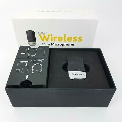 Cochlear Wireless Mini Microphone For Hearing Aids | For Baha 5 | Pristine Boxed