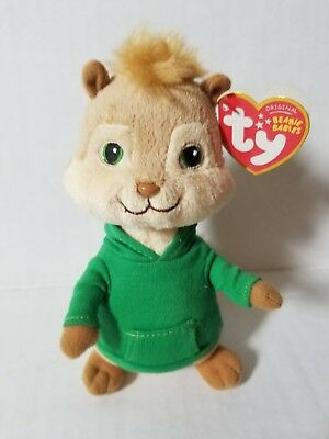 NWT Ty Beanie Baby THEODORE from Alvin and the Chipmunks Free Ship 2010 6