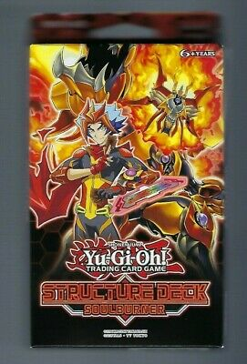 Yu-Gi-Oh! TCG Cards Structure Deck Soulburner