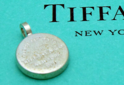 Tiffany & Co. 925 Sterling Silver Return to Tiffany Circle Pendant