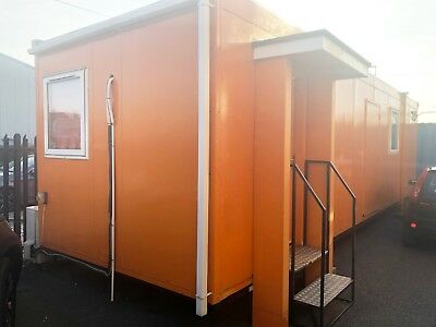 PORTABlE SITE OFFICE CABIN 32ft x 10ft
