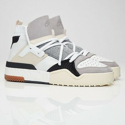 new product b6fbb 2353b adidas X Alexander Wang BBALL Boost Leather White CM7824 - ALL SIZES 3-11