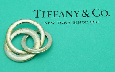 Tiffany & Co.1837 Sterling Silver Interlocking Circles Pendant