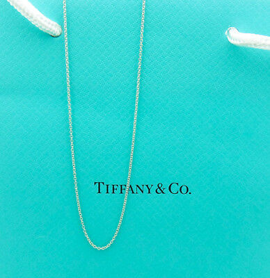 "Tiffany & Co. 925 Sterling Silver 20"" Chain Necklace"