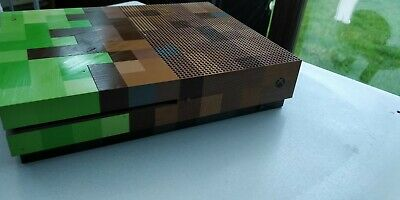 Microsoft Xbox One S Minecraft Limited Edition Bundle 1TB with kinect