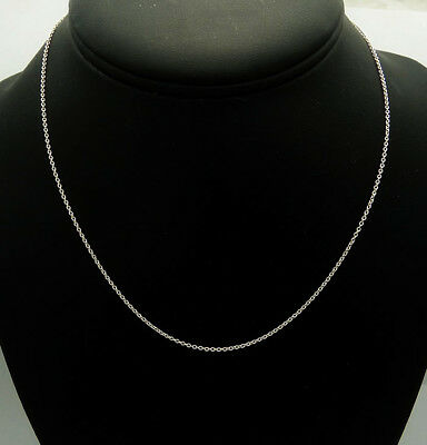 "Tiffany & Co. 925 Sterling Silver 18"" Chain Necklace"