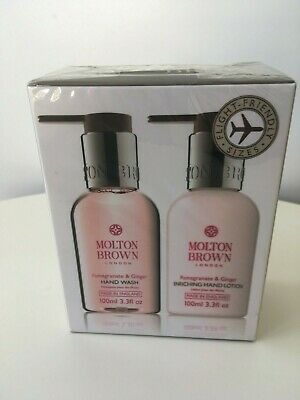 Molton Brown Pomegranate & Ginger Hand Wash & Lotion Duo Travel Size Sealed