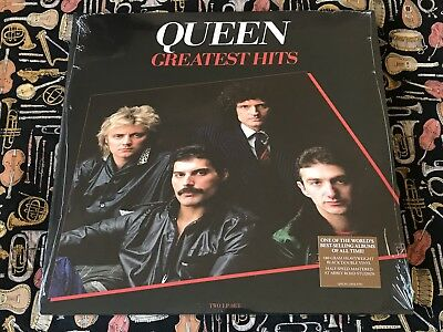 QUEEN - GREATEST HITS 2xLP HOLLYWOOD RECORDS D002449501 HALF SPEED MASTERED NEW