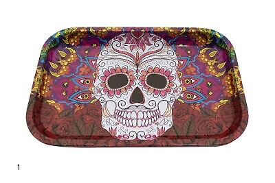 """Tobacco Rolling Tray 11"""" x 7"""" Assorted Design"""