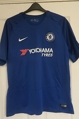 Nike Chelsea FC Home Football Shirt 2017/2018 Blue - Size UK XL