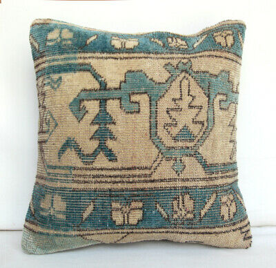 Wool pillow,Vintage pillow,Oushak pillow,Rug pillow,Carpet pillow,Cream cushions