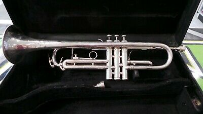 King Silver Trumpet With Case!