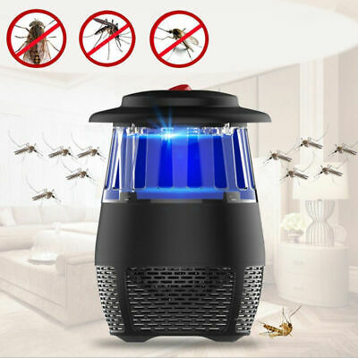 Powerful Electric Fly insect Wasp Killer Pest Zap Control Bug Zapper Trap Black