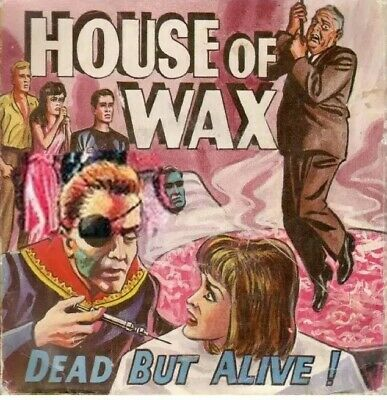 """super 8""""HOUSE OF WAX"""" 400ft B/W Sound Very Rare."""