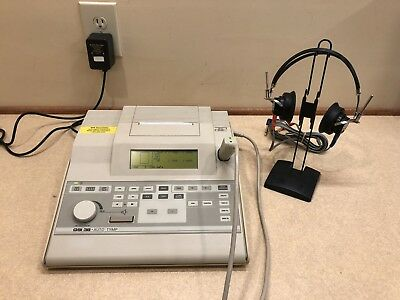 GSI 38 Tympanometer/Audiometer Combo w/ Current Calibration Cert