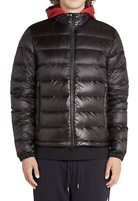 New Moncler Authentic Prevot Hooded Puffer Jacket NWT Navy
