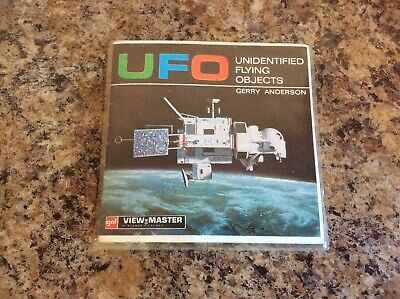 Vintage Viewmaster UFO Booklet & 3 Discs B417 1969 Gerry Anderson