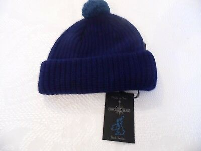 2d816f2baef NEW PAUL   Shark Watershed Knitted Beanie Hat (Navy). - £46.00 ...