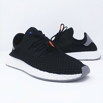 lowest price a0d03 60237 Adidas Originals Deerupt Runner Black White Grey Mens Shoes Multi Size  B41765