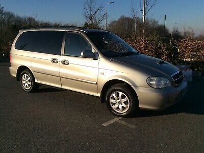 Used Beige Kia Sedona 54 Plate Disabled Wheelchair Access Car / Van