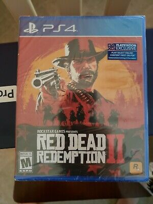 Brand New Sealed Red Dead Redemption 2 PS4 PlayStation 4 2018