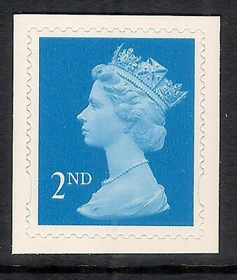 GB 1998-2001 sg2039 2nd Blue centre band perf 15x14 self adhesive MNH
