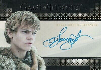 Game of Thrones Season 7, Thomas Brodie-Sangster 'Jojen Reed'Autograph Card
