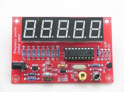 DIY Kit Digital LED 1Hz-50MHz Crystal Oscillator Frequency Counter Meter
