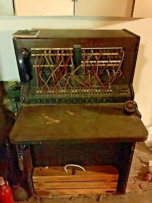 Vintage Antique Bell System Western Electric 556A Telephone Switchboard USA