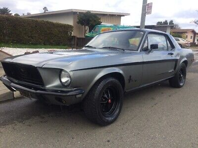 1968 Ford Mustang Sport Coupe 1968 Ford Mustang Sports Coupe 289 V8 C Code Ca Black Plates 1966 1965 1967