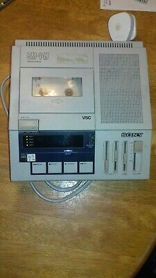 Sony BM-147 Court Conference Cassette Transcriber