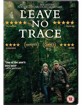 Leave No Trace DVD Brand NEW Sealed Ben Foster 5035822892842