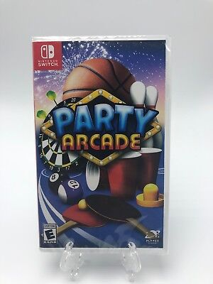Party Arcade - Nintendo Switch *NEW* FAST FREE SHIPPING