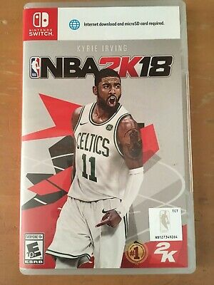 NBA 2K18 Nintendo Switch Game USED CASE INCLUDED