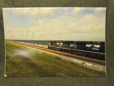 2012 Large Norfolk Southern Railroad Picture Calendar - Great Train Photos