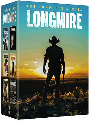 Longmire: The Complete Series Seasons 1-6 Box Set (Brand New, DVD)