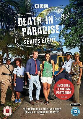 Death In Paradise Series 8 DVD Brand New Sealed PRE-ORDER 5051561043291
