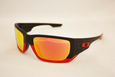 60a76e8df8 OAKLEY Ferrari sunglasses Style Switch 9194-24 Black Red Ruby Iridium Mirror