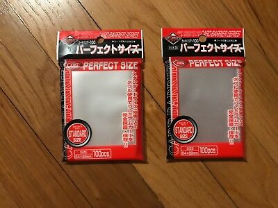 PERFECT FIT- Pokemon Card Sleeves- Card Series From Japan- 2 Sealed Packs