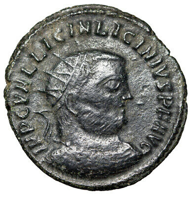 "CERTIFIED AUTHENTIC Roman Coin of Licinius I ""Jupiter the Protector"" QUALITY"