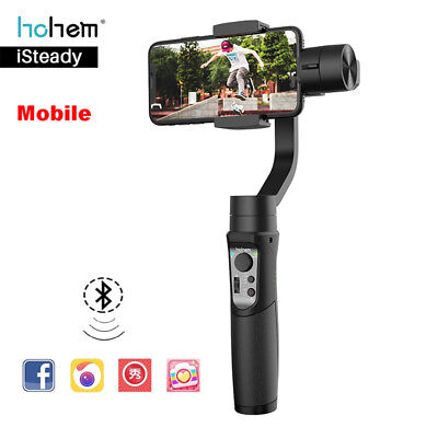 Hohem iSteady 3-Axis Smartphone Gimbal Stabilizer for iPhone 7 X XR For Samsung