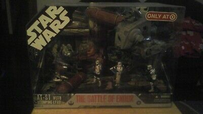 2004 Star Wars 30th The Battle Of Endor Only At Target MIB !
